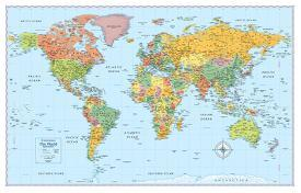 Affordable world maps posters for sale at allposters rand mcnally laminated signature world map gumiabroncs Choice Image