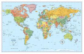 Affordable world maps posters for sale at allposters rand mcnally signature world map gumiabroncs Gallery