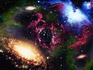 Galaxies and Nebulas of Outer Space by Randall Fung