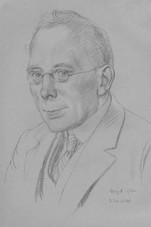 Campbell Dodgson, Keeper of Prints and Drawings, British Museum, 1912-32, 1932