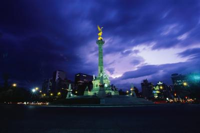 Independence Monument in Mexico City by Randy Faris