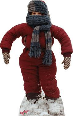 """Randy """"I can't put my arms down"""" - A Christmas Story Lifesize Cardboard Cutout"""