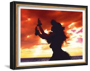 Hula Sunset by Randy Jay Braun