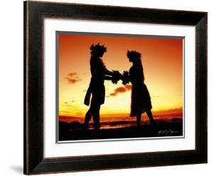 Sunset Lovers by Randy Jay Braun