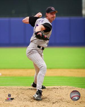 Randy Johnson 2002 Action