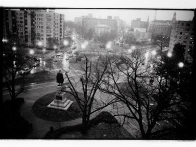 Scott Circle Seen from a Hotel Window, Washington, District of Columbia by Randy Olson