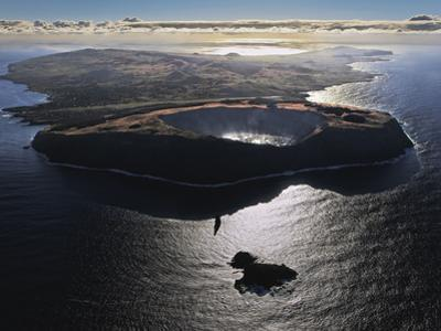 Three Volcanoes, Quiet Now, Formed Easter Island Half a Million Years Ago by Randy Olson