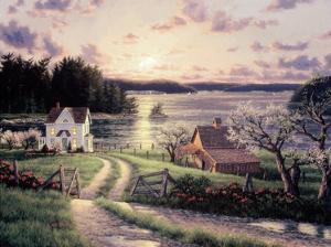 Island Sunset by Randy Van Beek