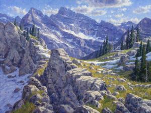 Precipices and Peaks by Randy Van Beek