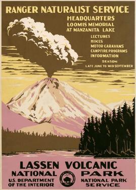Lassen Volcanic National Park, ca. 1938 by Ranger Naturalist Service