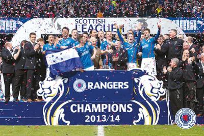 Rangers - Champions 13/14
