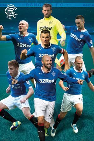 Rangers Players 14/15