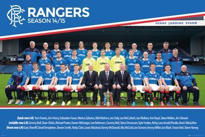 Rangers Team 14/15