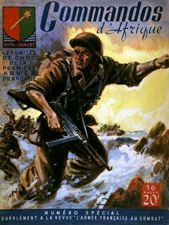 French Commandos Land