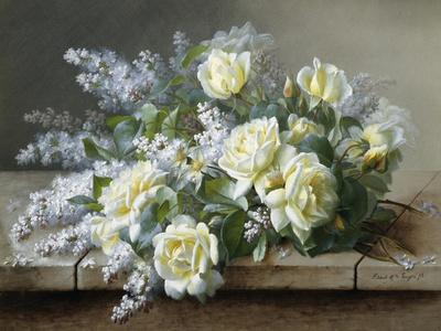 A Still Life with Yellow Roses