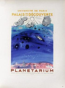 AF 1956 - Planétarium by Raoul Dufy