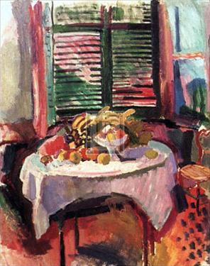Afternoon Still Life by Raoul Dufy