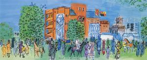 Ascot, le Pesage , 1931 by Raoul Dufy