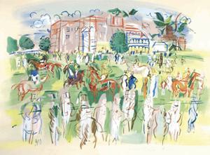 Ascot by Raoul Dufy