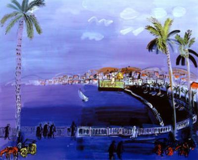 Baie des Anges, Nice by Raoul Dufy