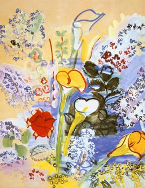 Bouquet d'Arums by Raoul Dufy