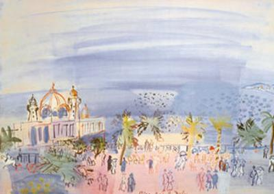 Casino in Nice by Raoul Dufy