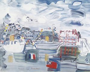 Deauville 1938 by Raoul Dufy