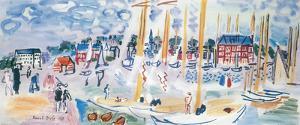 Dimanche a Deauvilie by Raoul Dufy