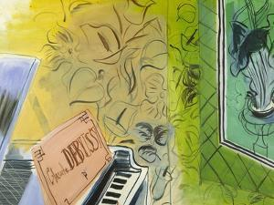 Dufy: Claude Debussy, 1952 by Raoul Dufy