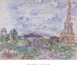 La tour Eiffel by Raoul Dufy