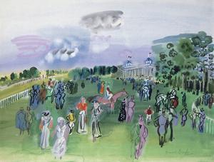 Longchamps by Raoul Dufy