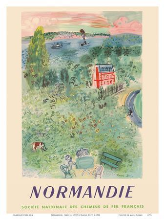 Normandie, France - SNCF (French National Railway Company)