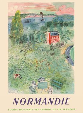 Normandie, France - SNCF (French National Railway Company) by Raoul Dufy