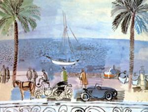 Promenade a Nice by Raoul Dufy