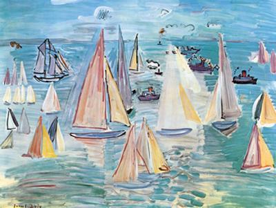 Regatta by Raoul Dufy