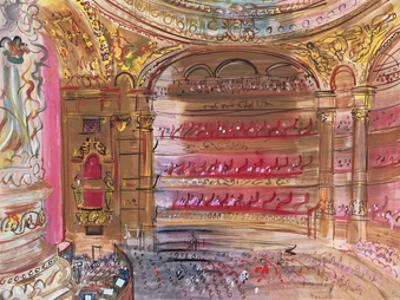 The Opera, Paris, early 1930's by Raoul Dufy