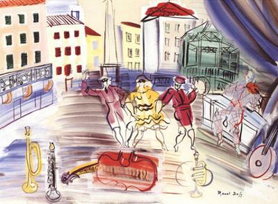 The Three Masks by Raoul Dufy