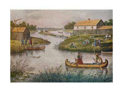 'Chicago in 1833', c1930 (1933)