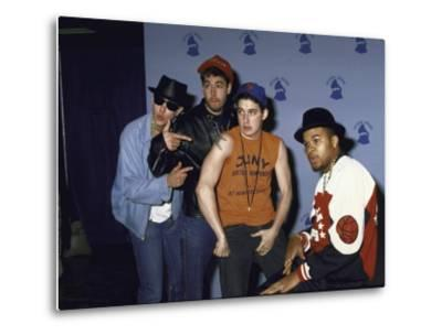 Rap Group the Beastie Boys Adam Horovitz, Adam Yauch, and Mike Diamond with Dj Hurricane