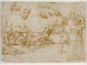 Amorini at Play by Raphael