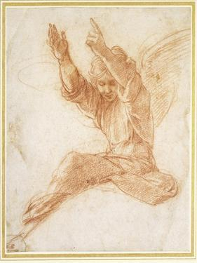 An Angel by Raphael
