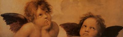 Angels (detail) by Raphael