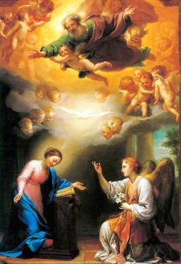 Raphael Annunciation Art Print Poster