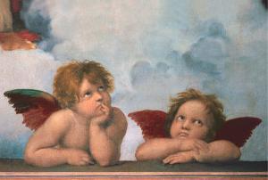 Cherubini by Raphael