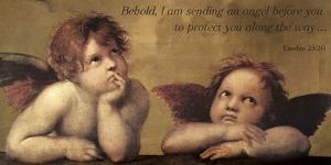 Cherubs - An Angel To Protect by Raphael