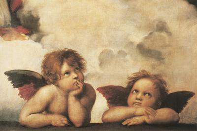 Cherubs by Raphael