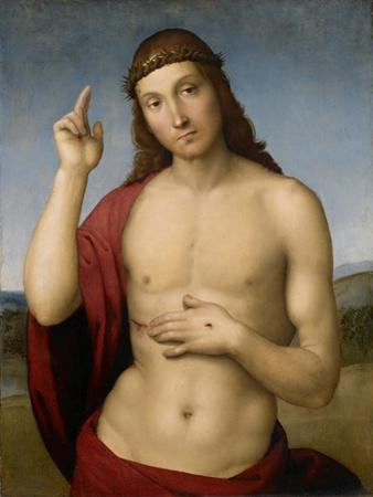 Christ Blessing by Raphael