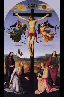 Christ on the Cross by Raphael