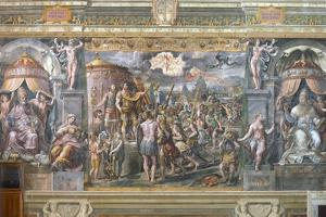 Constantine's Vision of the Cross by Raphael