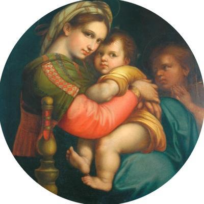 Copy of Madonna and Child by Raphael